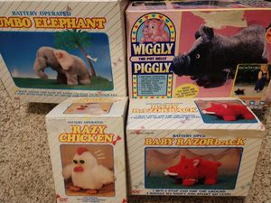 Collectible Toys still in box for Sale in Everett, WA