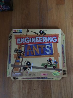 Engineering Ants for ages 5+. 2-4 players for Sale in Sudbury, MA