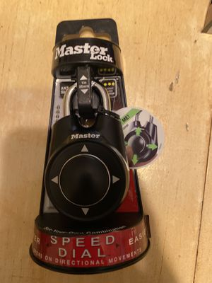 Master lock speed dial for Sale in Spring, TX