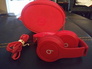 Red BEATS headphones for Sale in Tempe, AZ