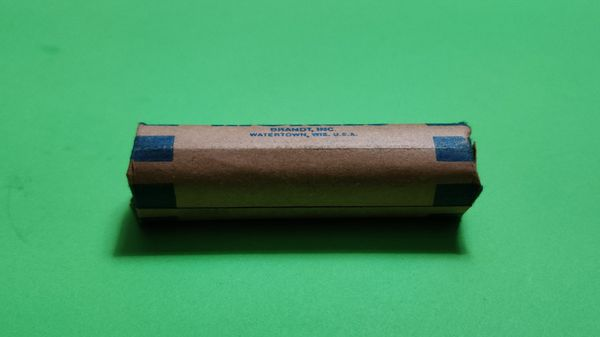 Roll of 1940-D Jefferson Nickels in original packaging only opened to take photos
