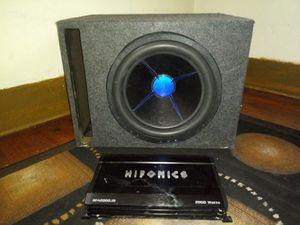 Hifonics 2000w amp with box for Sale in Kalamazoo, MI