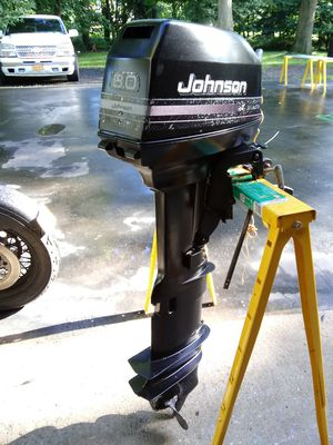 Johnson 8.0 long shaft outboard boat engine for Sale in Airmont, NY
