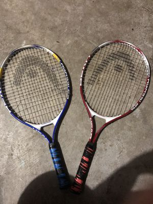 Tennis rackets for Sale in Crosby, TX