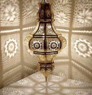 Pendant Light Fixture Hanging Light Chandelier Handmade Metal Moroccan Lighting for Sale in Henderson, NV