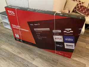 TCL Brand New 55 Inch smart tv 4K for Sale in Orlando, FL