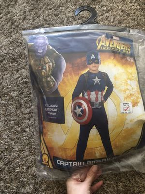 Captain America Boys small for Sale in Louisville, KY