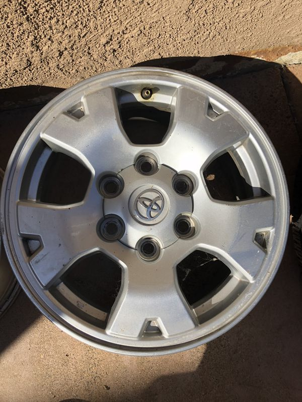 Toyota Tacoma Rims only 17's