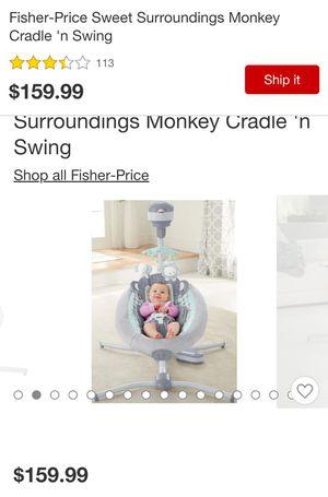 Fisher price swing-monkey for Sale in BRECKNRDG HLS, MO