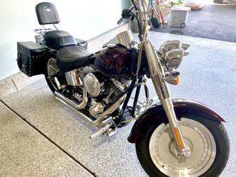 2003 100th Anniversary Harley Davidson Fat Boy  for Sale in Fox Rv Vly Gn, IL