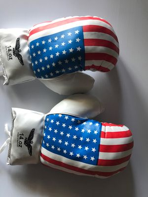 14 oz boxing gloves indoor outdoor sports amateur recreational for Sale in Long Beach, CA