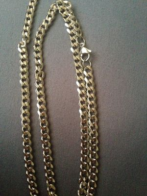 Men's fashion stainless steel chain necklace for Sale in Moreno Valley, CA
