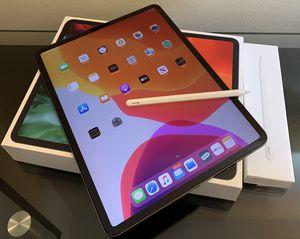 APPLE iPad Pro 12.9 Inch ( 4th Generation Wi-Fi ) 128 GB / Apple Pencil EXTRA ACCESSORIES for Sale in Falls Church, VA