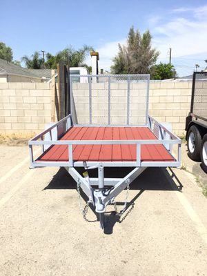 6.5x10x1 S/A Utility Trailer for Sale in Big Bear Lake, CA