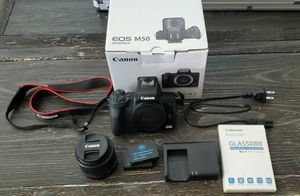 Canon Eos M50 for Sale in Tucson, AZ