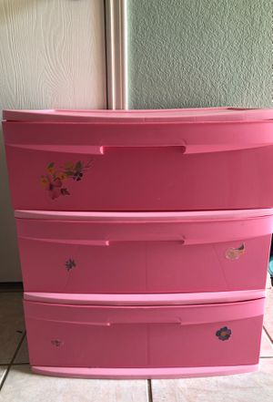 Plastic drawer for Sale in Saginaw, TX