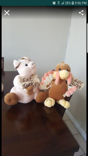Precious moments Plushes (Like new) Both for $10 for Sale in El Paso, TX