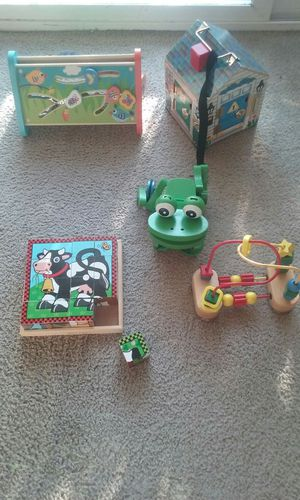 Wooden active toys for baby😊 for Sale in Everett, WA