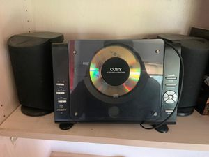Coby micro CD player stereo system with Am/Fm tuner for Sale in Newark, CA