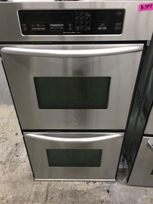 """Kitchen Aid stainless steel 27"""" double oven for Sale in Tustin, CA"""