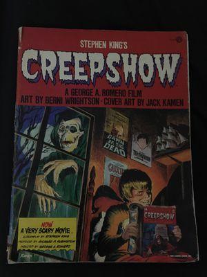 Stephen King Creepshow reprint Comic for Sale in Crestview, FL