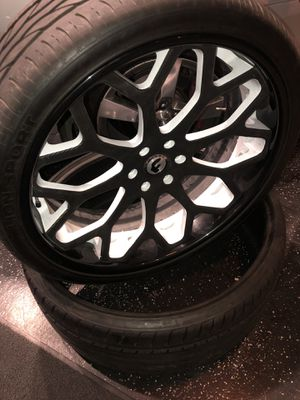 26 Forgatio wheels and tires for Sale in Wichita, KS