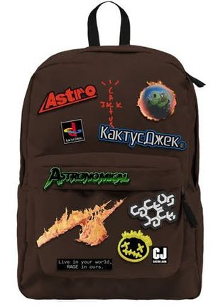 Cactus Jack Backpack Patch Set Travis Scott NEW for Sale in Pomona, CA