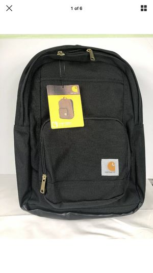 Carhartt Classic Black Backpack W/ Padded Laptop Sleeve for Sale in Peoria, IL
