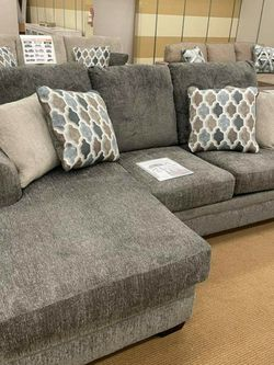 Dorsten Slate Reversible Sofa Chaise💗Sofa ♥️ Couch for Sale in Fort Worth,  TX