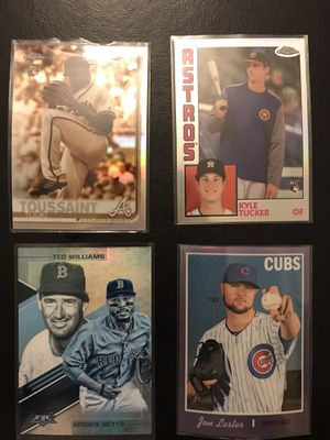 Baseball card Mystery Pack cards that have been packaged for that ripping thrill! Pick your team! for Sale in Las Vegas, NV