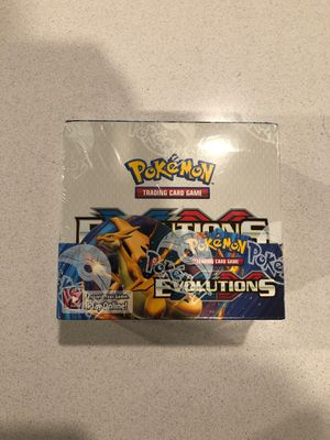 Pokemon Evolutions Trading Cards for Sale in Jarrell, TX