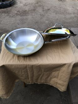 "All-Clad Copper Core 12"" Chefs pan. for Sale in Anaheim,  CA"