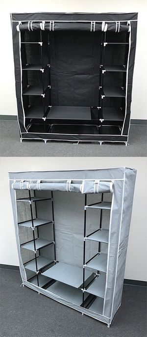"New $35 each Fabric Wardrobe Closet Storage Clothes Organizer 60x17x68"" (3 Colors) for Sale in City of Industry, CA"