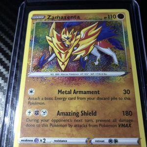 Zamazenta Amazing Rare 102/185 Vivid Voltage for Sale in Middletown, PA