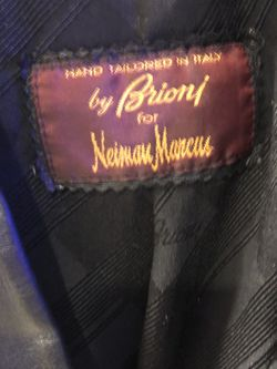 Brioni 100% Genuine Leather Jacket Handmade In Italy for Sale in Potomac,  MD