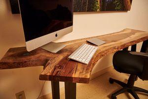 custom English walnut desk! for Sale in Clovis, CA