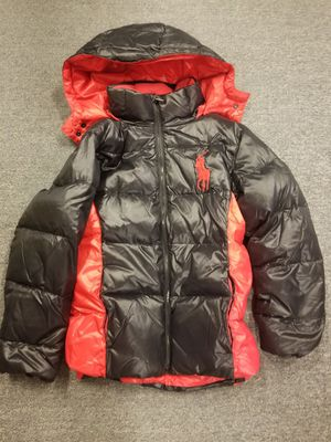 Polo Ralph Lauren puffer winter snow coat youth 10 12 child for Sale in Seattle, WA