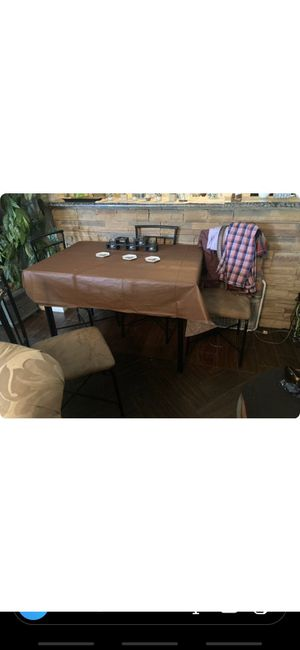 Dinning table with all 4 chairs for Sale in Abilene, TX