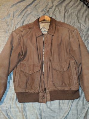 Leather Bomber Jacket for Sale in Prineville, OR