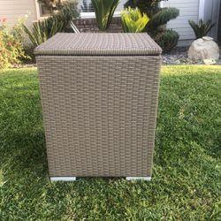 Outdoor Patio Pool Wicker Cooler (31×15×26inch) for Sale in Ontario,  CA