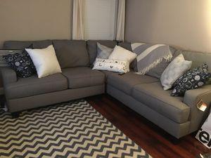 3piece Grey Sectional for Sale in Alexandria, VA