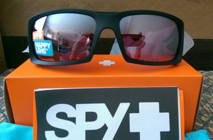 New Spy Optic Matte Black General Sunglasses w/ HD Rose Spectra Mirror Lenses for Sale in Lake Forest, CA