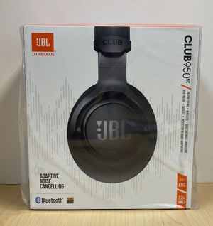 NIB JBL Club 950NC Black Wireless Noise Cancelling Over-Ear Headphones for Sale in Bentonville, AR
