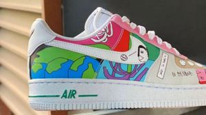nike air force 1 flyleather ruohan wang for Sale in Palmdale, CA