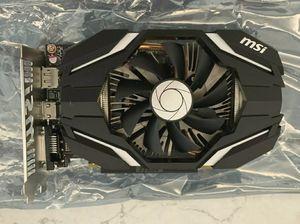 MSI GTX 1060 3GB GDDR5 Single Fan Graphics Card for Sale in Centreville, VA