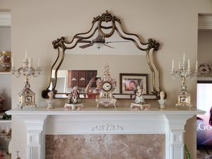 Dresdan Clock and Candelabras for Sale in Angier, NC