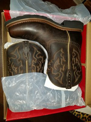 Justin womens composite toe work boots new for Sale in Houston, TX