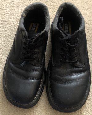 GBX Men's Black Leather Work Boots - Size 11 1/2 for Sale in Ellenwood, GA