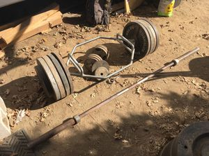 Weights and bars for Sale in Oak Glen, CA