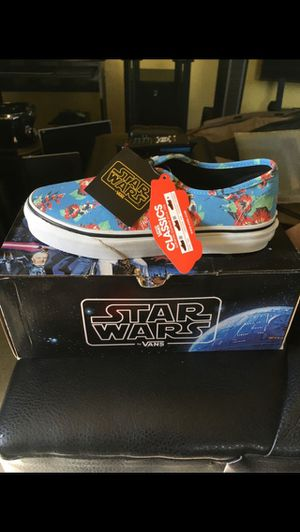 Brand new Vans Kids size 2.0 Aloha Yoda Star Wars for Sale in Los Angeles, CA